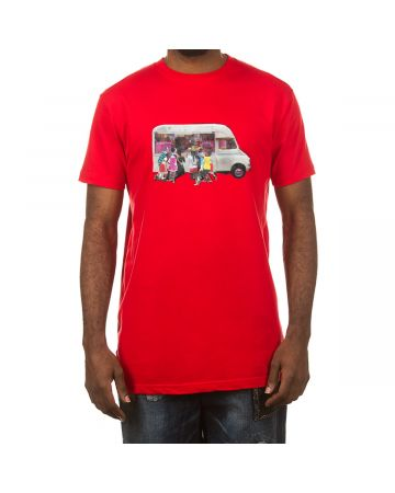 Icey SS Tee (Racing Red)