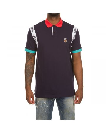 Destiny SS Polo (Navy)