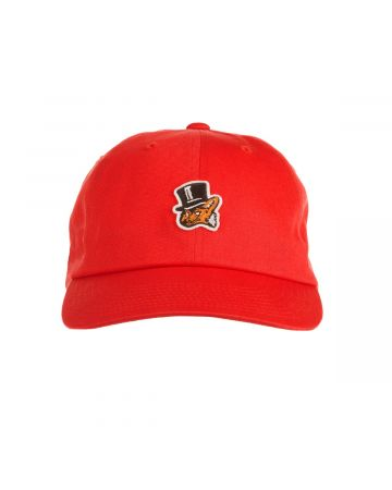 Classic Dad Hat (Racing Red)