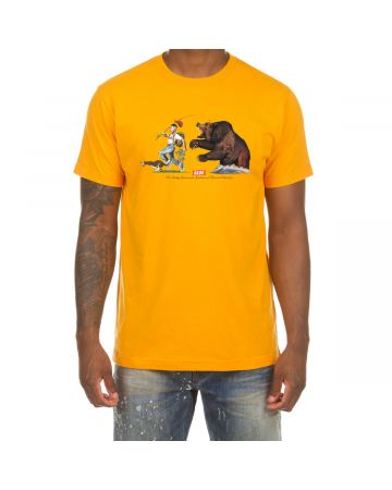 Run for Your Life SS Tee (Radiant Yellow)