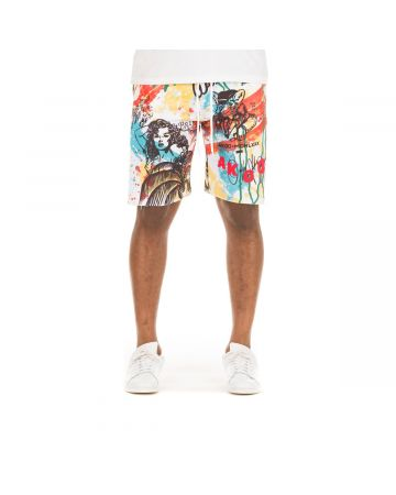 Vacation Short (Bleached White)