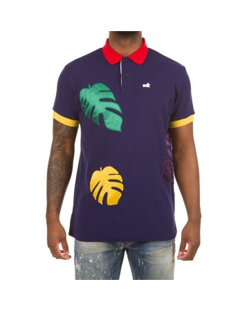 Palm SS Polo (Blue Depths)
