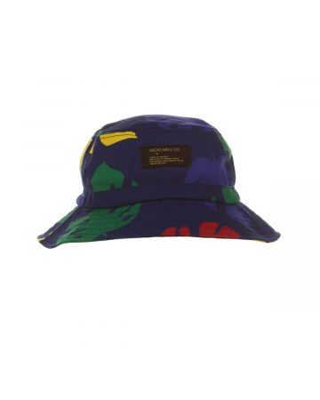 Leaf Bucket Hat (Blue Depths)