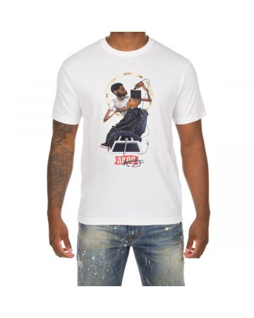 High Top SS Tee (White)