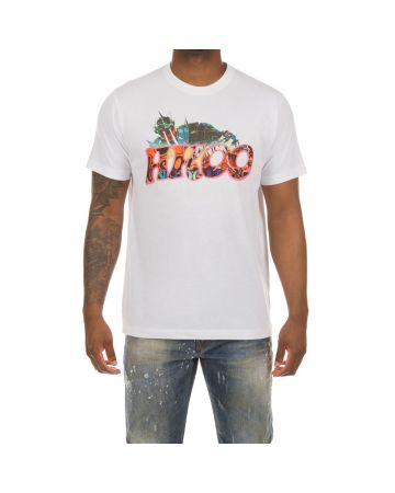 Robot Akoo SS Knit (Bleached White)