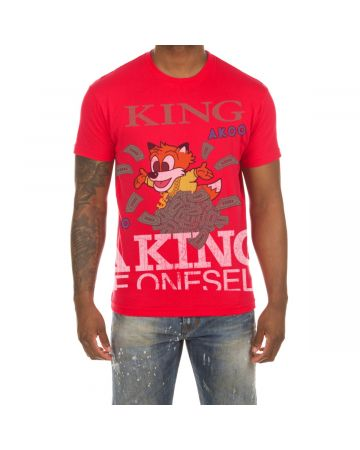 King Money SS Tee (Hibiscus)
