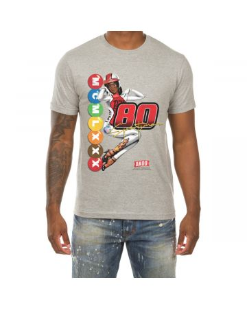 Passion SS Tee (Heather Grey)