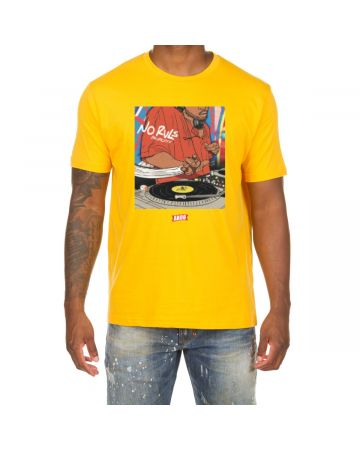 Scratch SS Tee (Old Gold)