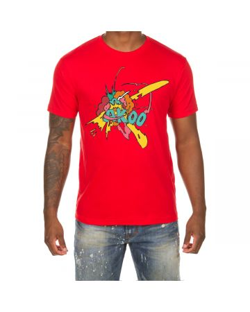 Explosion SS Tee (Racing Red)