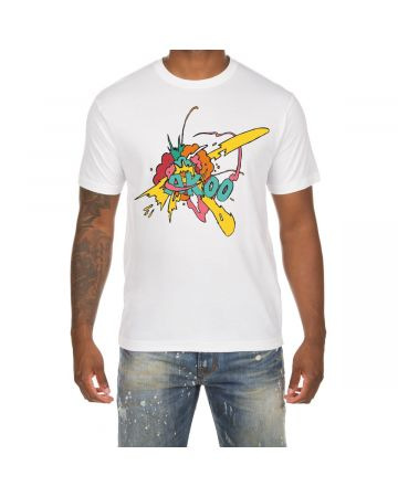 Explosion SS Tee (White)
