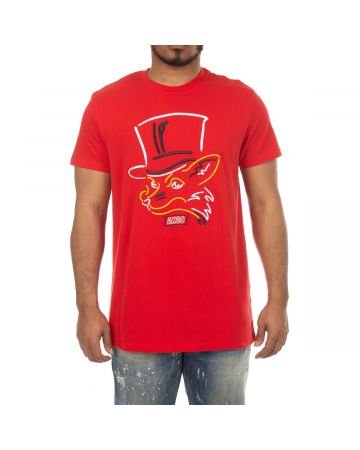 Top Hat Slick SS Knit (Racing Red)
