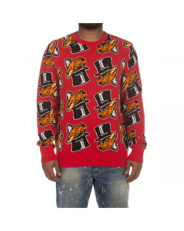 Slick'd Sweater (Red)