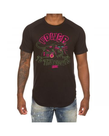 Power Scoop Btm Tee (Black)