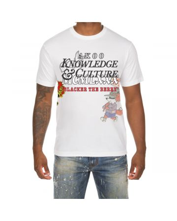 Knowledge SS Tee (White)