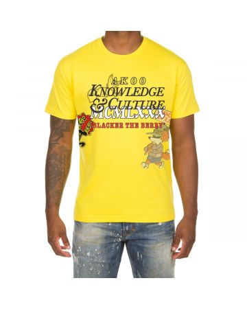 Knowledge SS Tee (Empire Yellow)