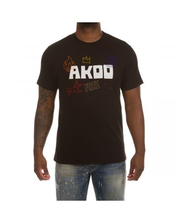 Akoo Icon SS Knit (Black)
