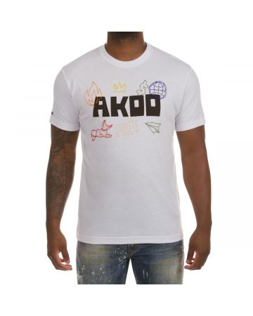 Akoo Icon SS Knit (Bleach White)