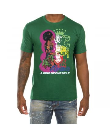 Electric Lady SS Tee (Greener Pastures)