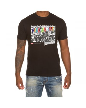 Rise Above SS Tee (Black)