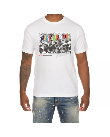 Rise Above SS Tee (White)