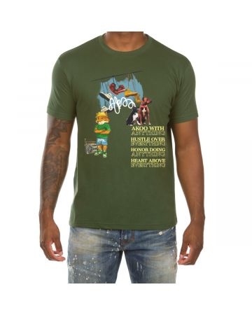 Akoo With Anything SS Tee (Greener Pastures)