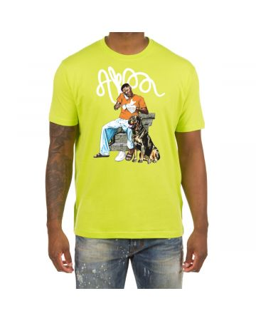 Clean Shoes SS Tee (Acid Lime)