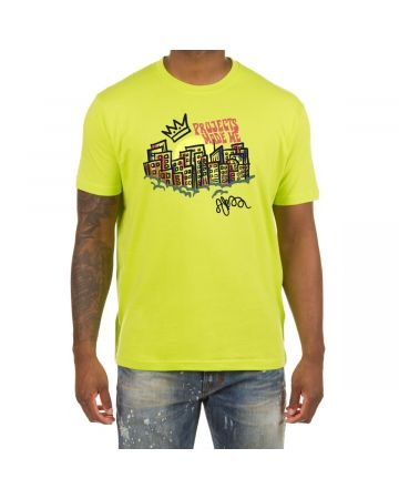 Project Made SS Tee (Acid Lime)