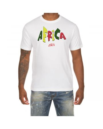 Africa SS Tee (White)