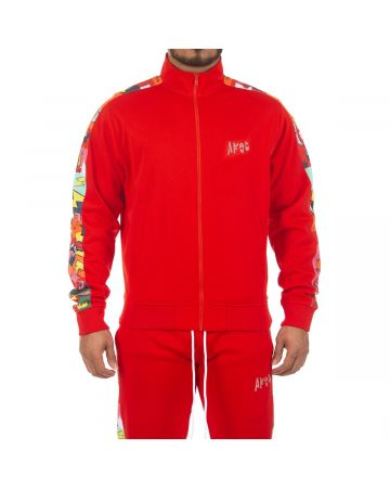 Painted Jacket (Racing Red)