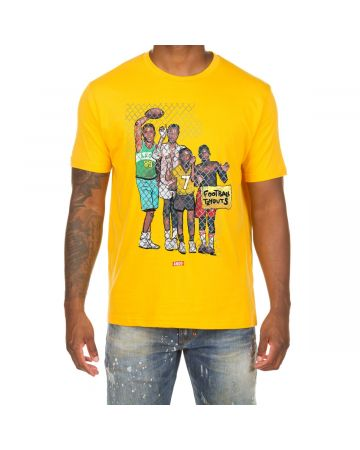 Tryouts SS Tee (Old Gold)