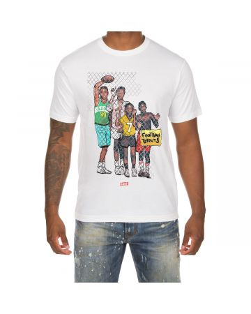 Tryouts SS Tee (White)