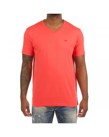 Honor V-Neck SS Knit (Cayenne)
