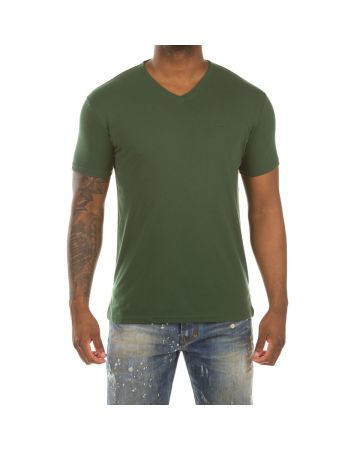 Honor V-Neck SS Knit (Greener Pastures)