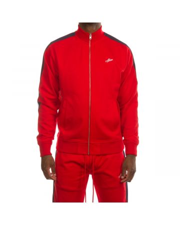 Trainer Track Jacket (Racing Red)
