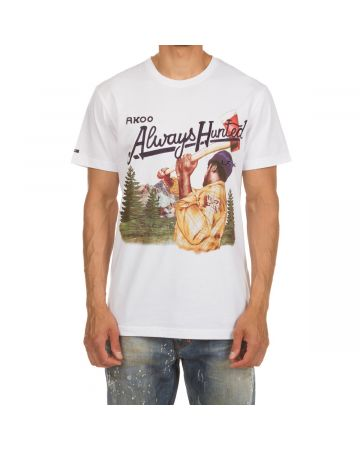 Always Hunted SS Knit (Bleached White)