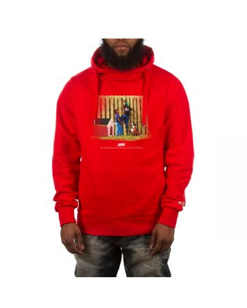 Fence Hoodie (Racing Red)