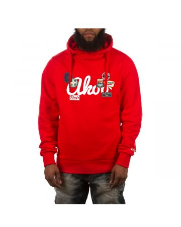 Patch Hoodie (Racing Red)