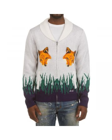 Predator Sweater (Bleached White)