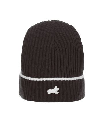 Fox Knit Hat (Black Beauty)