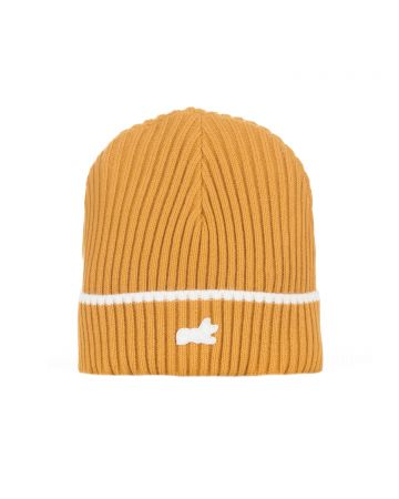 Fox Knit Hat (Wheat)