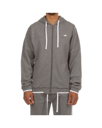 King Jogger Set (Heather Steel Gray)