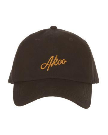 Smooth Dad Hat (Black)