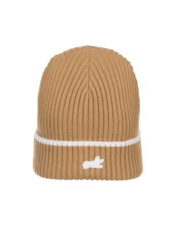 Fox Knit Hat (Tannin)