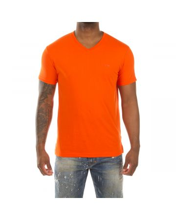 Honor V-Neck SS Knit (Flame)