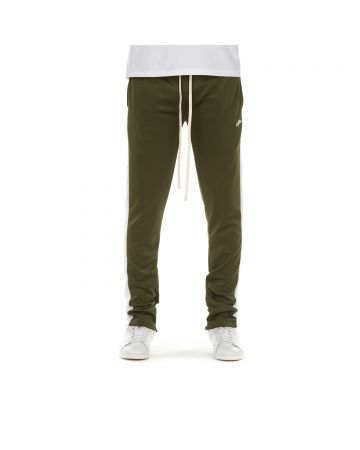 Track Pant (Olive/White)