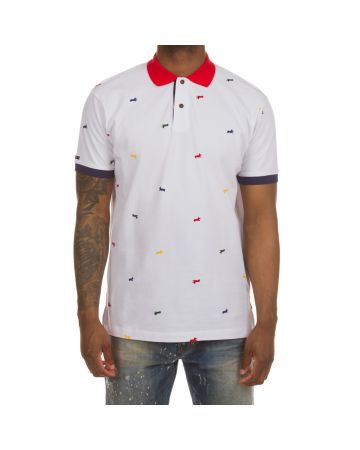 Snobby SS Polo (Bleached White)