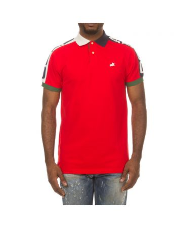 Strike SS Polo (Racing Red)