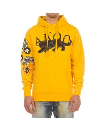 Stealth Hoodie (Old Gold)