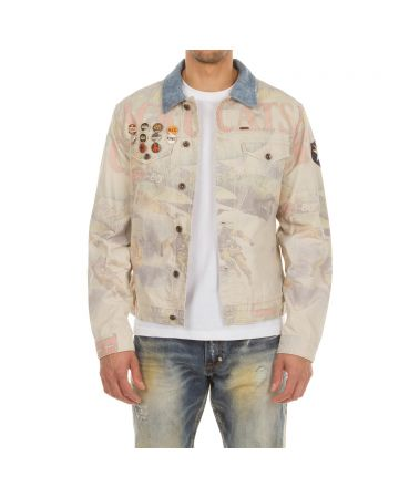 Brigade Denim Jacket (Wood Ash)