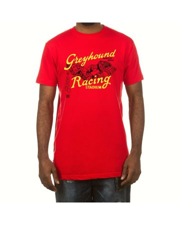 Greyhound SS Tee (Red)